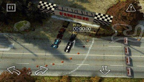 3Dだけど2Dなドリフトレーシングゲーム「Reckless Racing」。アンドロイドで爆走しよう(レビュー)