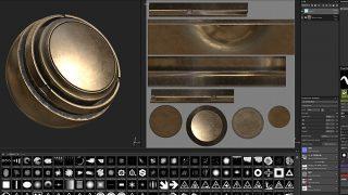 ゲームテクスチャ制作ツール「Substance Painter」の良く使う機能メモ