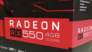 「AMD Radeon RX550」はローエンドグラフィックボードの定番となれるのか
