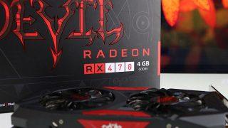 マイニングに翻弄された「Radeon RX 470」追試レビュー。16,800円(当時)の低価格グラボの思わぬ末路