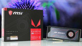 「Radeon RX Vega 56」レビュー。マイニングがなければ NVIDIAに一矢報えたGTX1070キラーの性能